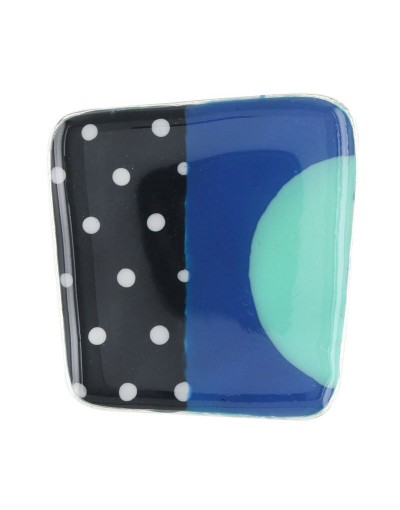 Bague Taratata Pop Art bleue