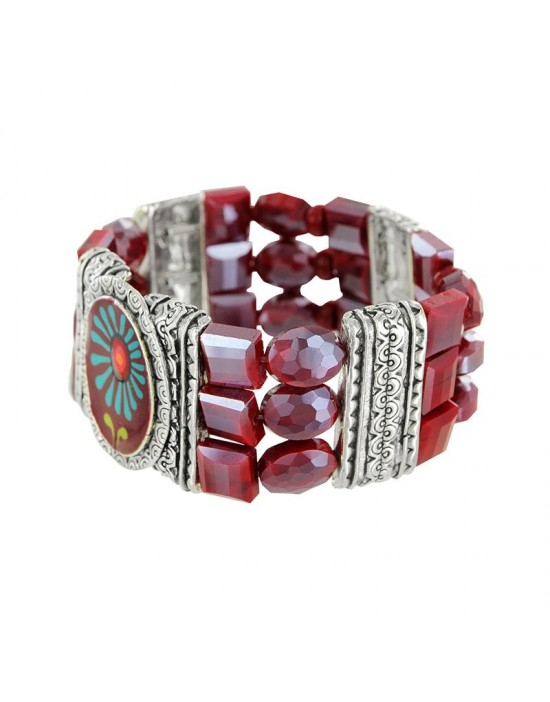 Bracelet Taratata Ruby rouge