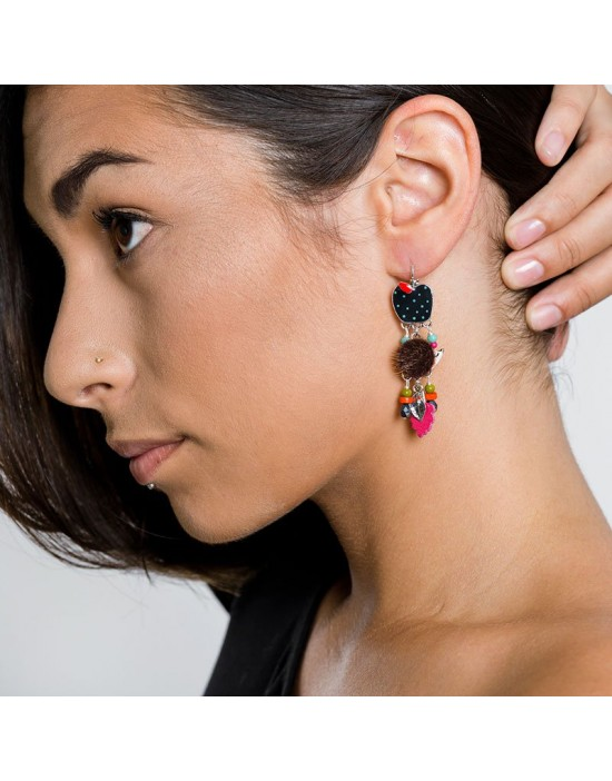 Boucles d'oreille Taratata...