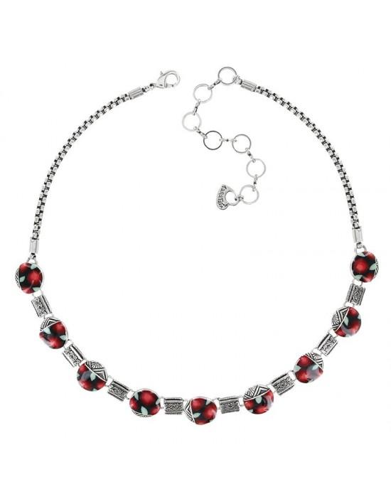 Collier Taratata Amarena rouge