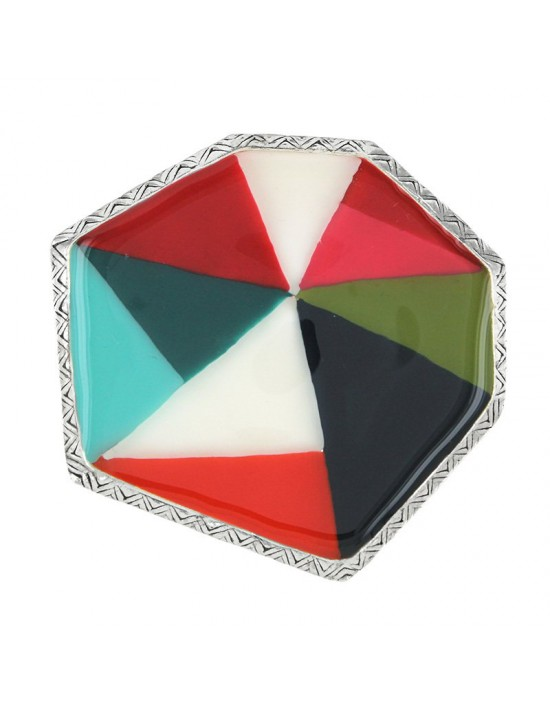Broche Taratata Rainbow multi