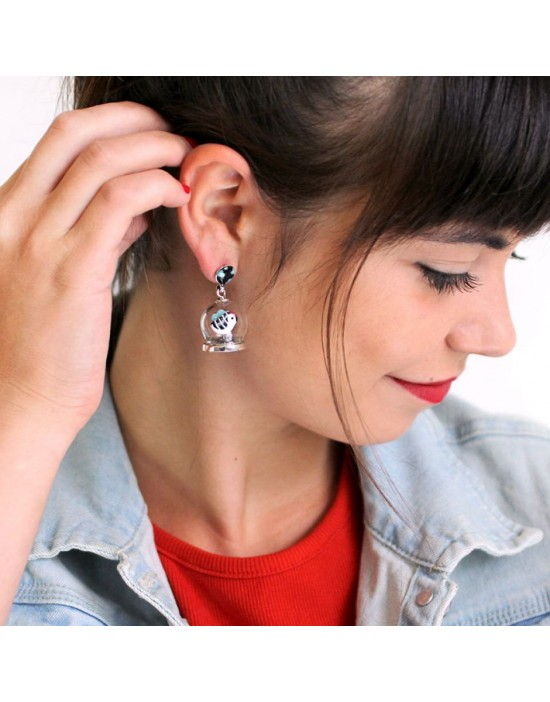 Boucles d'oreilles taraboum...