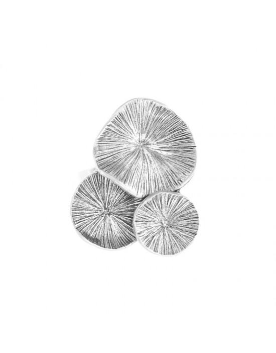 Bague Taratata Lotus Argent