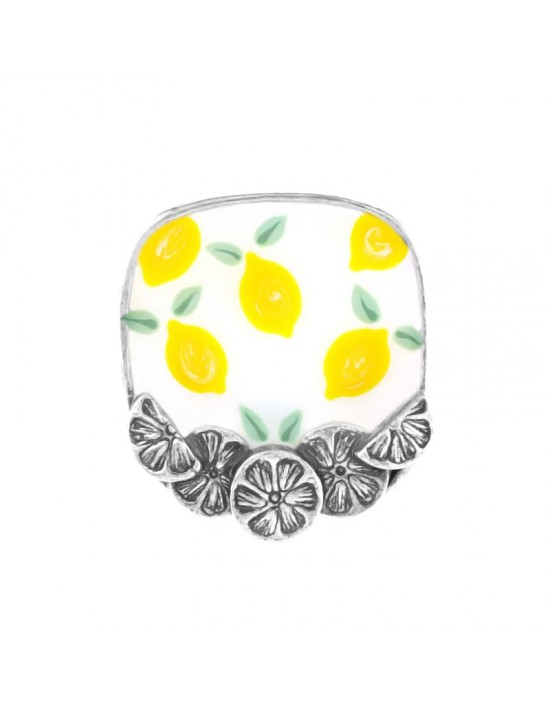 Bague Taratata Lemon jaune