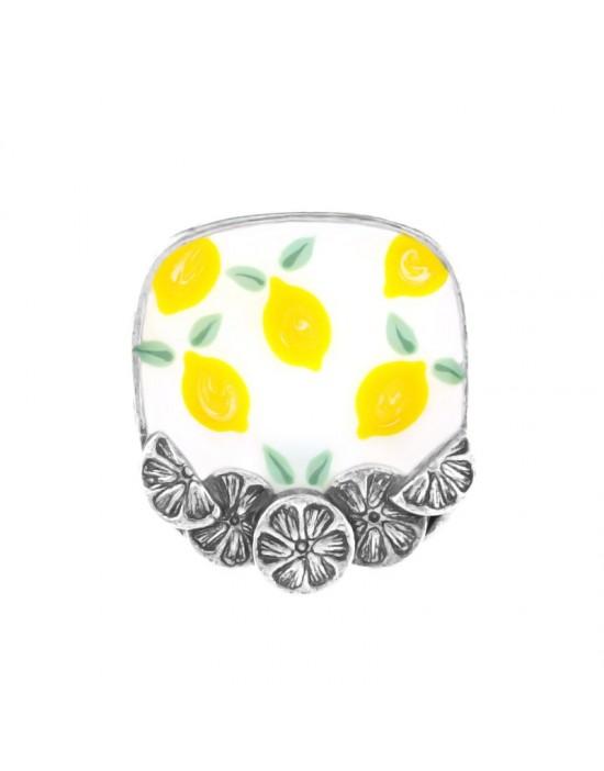 Bague Taratata Lemon argent...