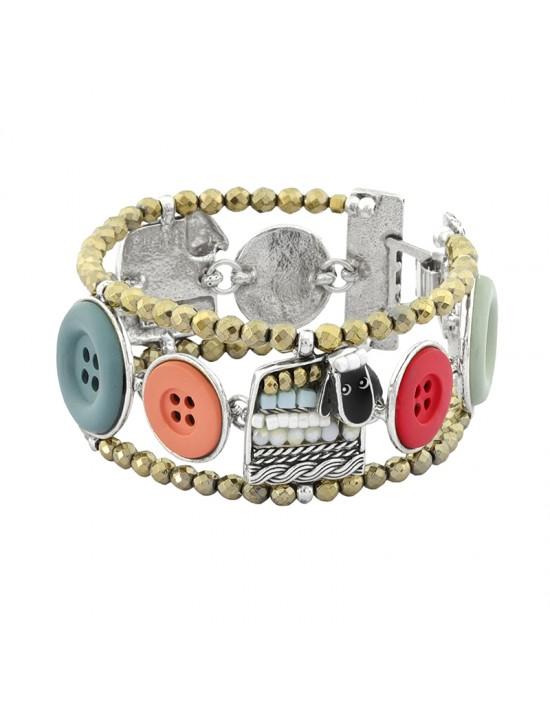 Bracelet Taratata Cousu main