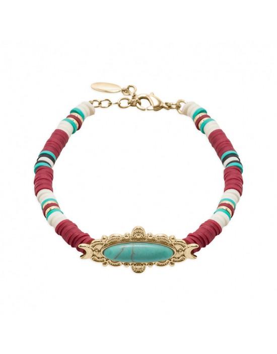 Bracelet Hipanema Crack Ruby