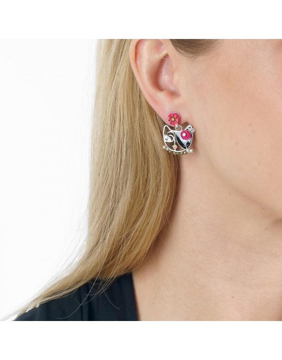 Boucles d'oreilles Chat va...