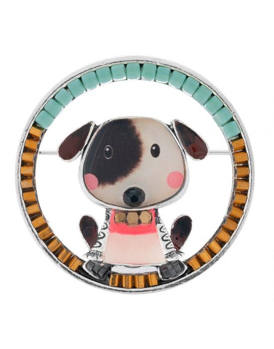 Broche Taratata Taraboum Puppy