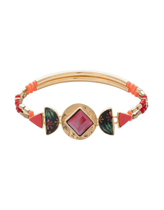 Bracelet Taratata rose bonbon