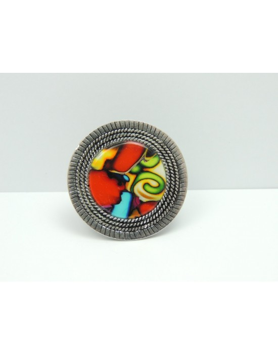 Bague multicolore Liz...