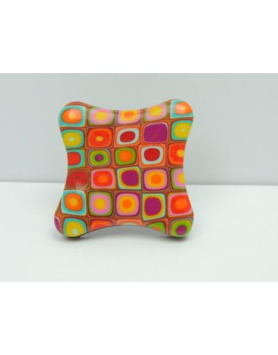 Bague multicolore Liz créations
