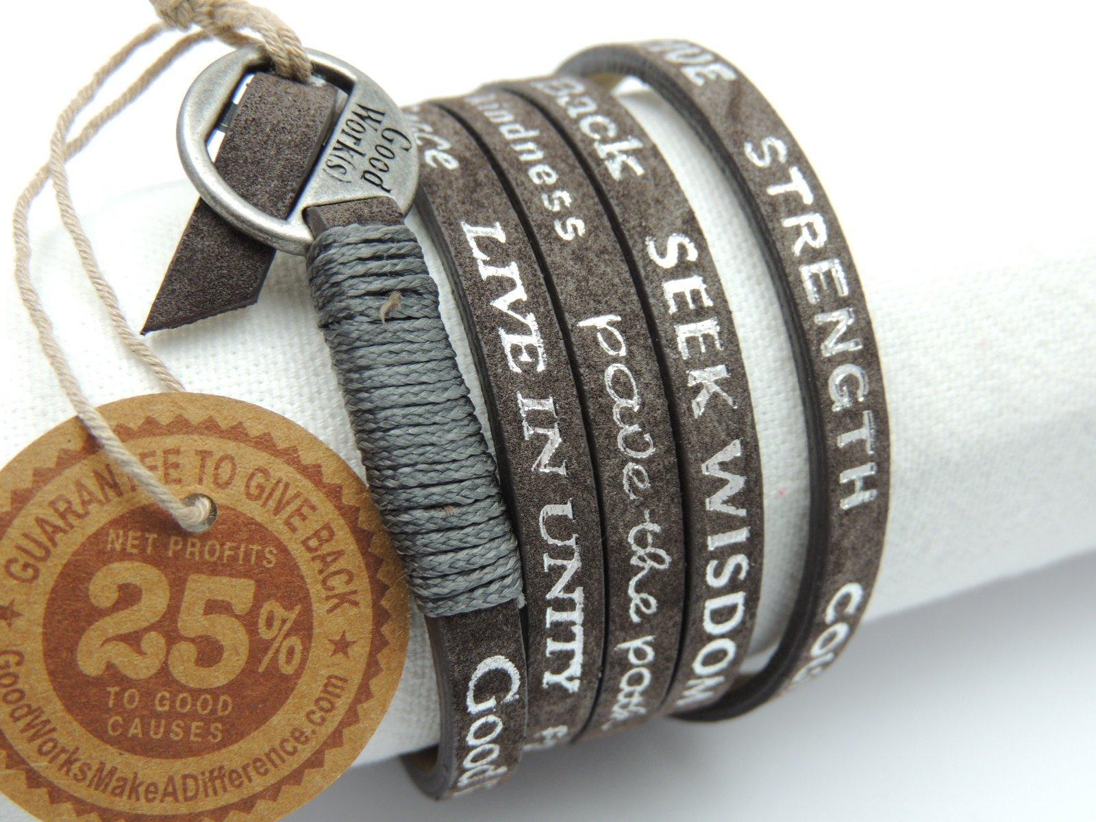 bracelets Good Works